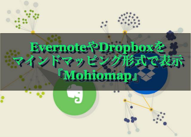 EvernoteやDropboxをマインドマッピング形式で表示できる『Mohiomap』