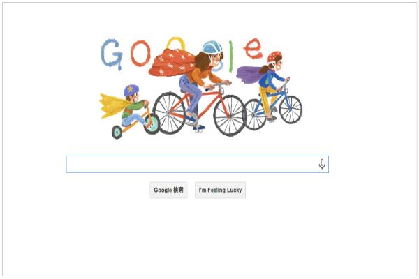 本日のGoogleロゴが母の日を記念した仕様に。【2014年5月11日】
