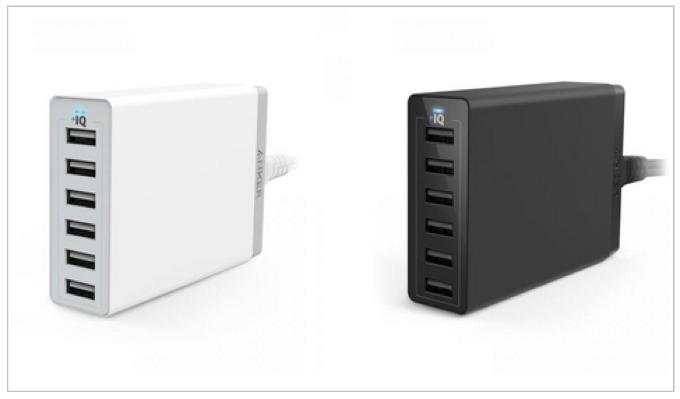 Anker Japan「Anker 60W 6ポート USB急速充電器」と「高耐久ナイロン ライトニングUSBケーブル」来週1月17日(土)より発売開始!初回記念特価に!