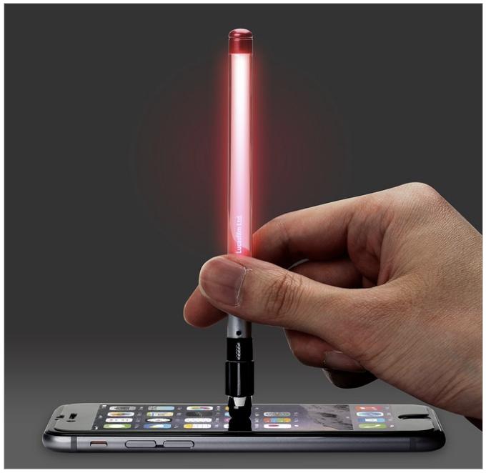ライトセーバー型タッチペン