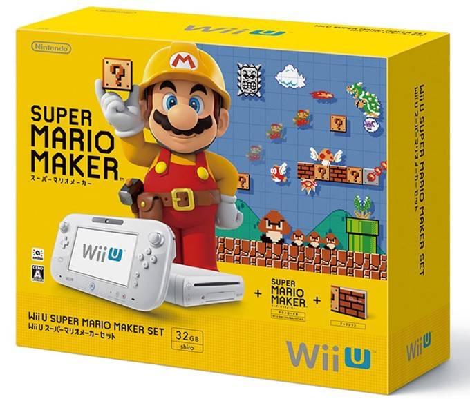 任天堂「Wii U スーパーマリオメーカー スーパーマリオ30周年セット」数量限定販売!
