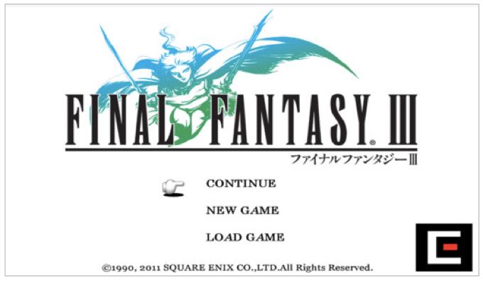 「Final Fantasy III(ファイナルファンタジー3)」が半額セール!