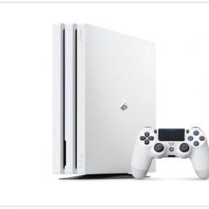「プレイステーション 4 Pro」グレイシャー・ホワイト 2017年9月6日 発売日決定【数量限定】